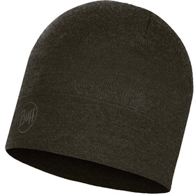 Buff Midweight Merino Wool Hat Forest Night Melange